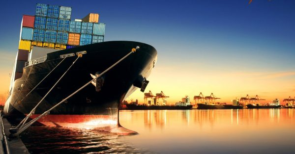 global shipping remains negative