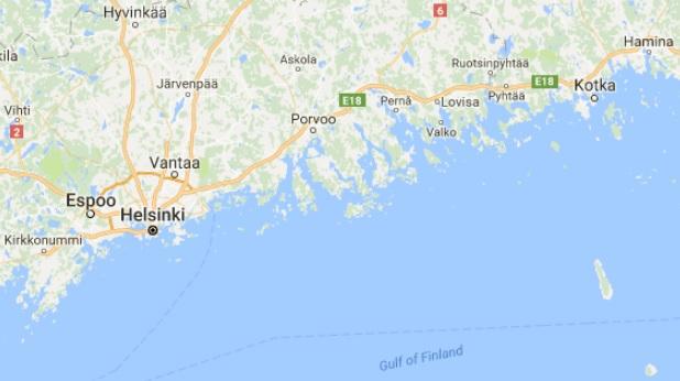 finland boat capsizing